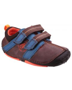 Hush Puppies Eddy Brown Pre-walkers