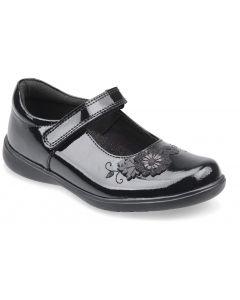 Start-Rite Wish Black Patent School Shoes