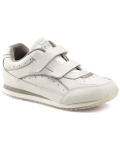 Toughees Sports White Non Marking Trainers