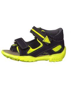 Ricosta Pepino Manti Navy Neon Sandals