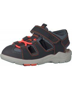 Ricosta Pepino Gery Grey Orange Sandals