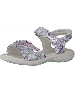 Ricosta Marisol Lilac Print Sandals