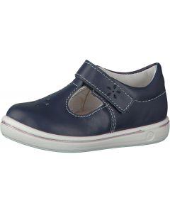 Ricosta Pepino Winona Nautic White T-bar Shoes