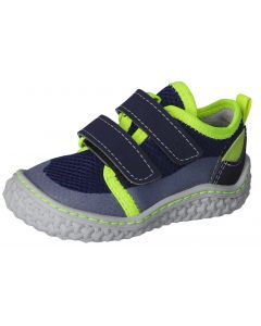 Ricosta Pepino Peppi Navy Neon Barefoot Shoes