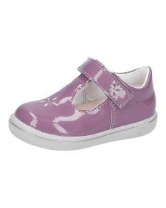Ricosta Pepino Winona Purple Patent T-bar Shoes
