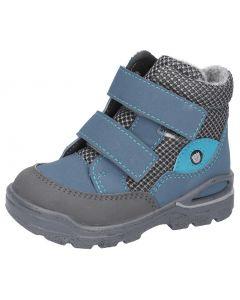 Ricosta Pepino Lasse Pavone Blue Waterproof Boots