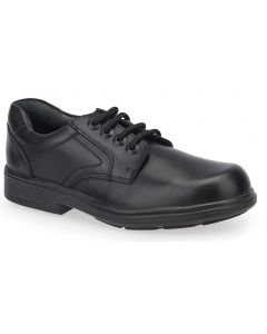 Start-Rite Isaac Black Leather School Shoes