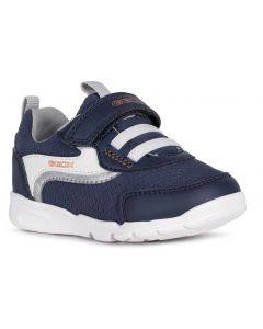 Geox Runner Navy Orange Trainers