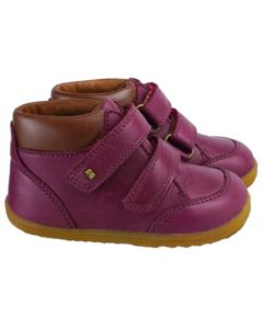 Bobux Step Up Timber Boysenberry Boots