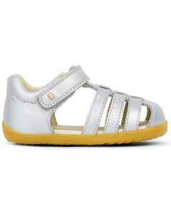 Bobux Step Up Jump Silver Sandals
