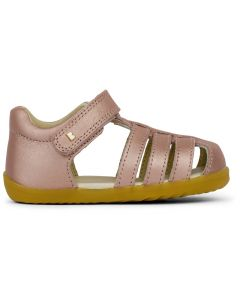 Bobux Step Up Jump Rose Gold Sandals