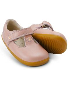 Bobux Step Up Louise Dusk Pearl T-bar Shoes