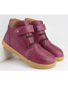 Bobux I-walk and Kid+ Timber Boysenberry Boots