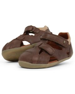 Bobux Step Up Chase Brown Sandals