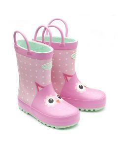 Chipmunks Adore Pink Wellingtons