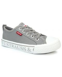 Levis Maui Strauss Grey Canvas Shoes