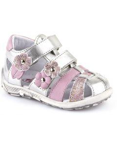 Froddo G2150057-2 Silver Pink Sandals