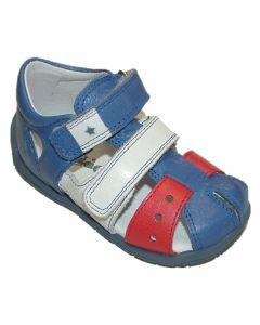Froddo G2150071-1 Blue Closed Toe Sandals