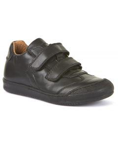 Froddo G3130133 Black Leather School Shoes