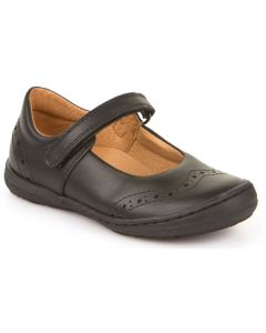 Froddo G3140077 Black Leather School Shoes