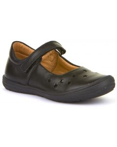 Froddo G3140109 Black Leather School Shoes