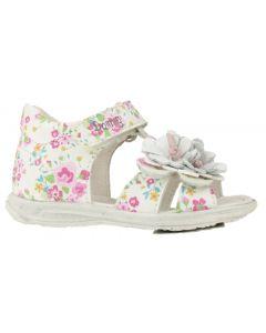 Primigi Galenia White T-bar Sandals