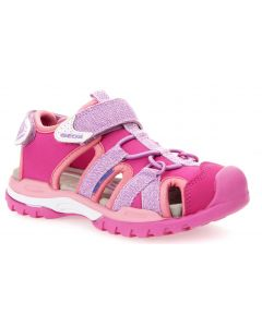 Geox Borealis Lilac Pink Sandals