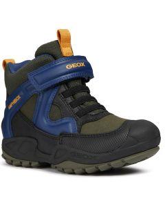 Geox Savage Green Blue Waterproof Boots