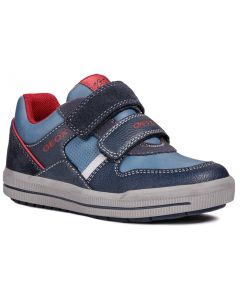 Geox Arzach Navy Red Shoes
