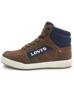 Levis Madison Hi Zip Tan Boots
