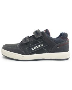 Levis Madison Low Velcro Grey Shoes
