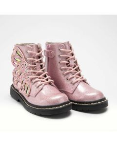 Lelli Kelly Fairy Wings Pink Boots
