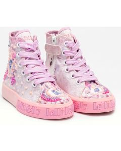 Lelli Kelly Fluttershy Pale Pink Unicorn Baseball Boots
