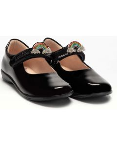 Lelli Kelly Brite LK8114 Black Patent School Shoes