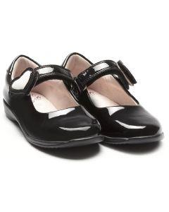 Lelli Kelly Colourissima LK8500 Black Patent School Shoes