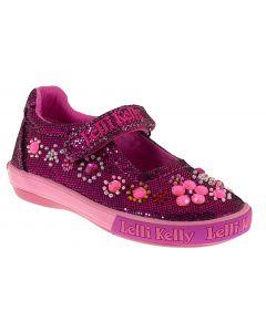 Lelli Kelly Rachele Pink Glitter Shoes