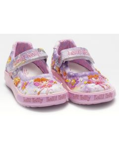 Lelli Kelly Fairy Baby Lilac Canvas Shoes