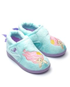 Chipmunks Maisie Aqua Slippers