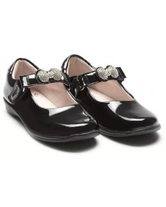 Lelli Kelly Mandy LK8304 Black Patent Changeable Strap School Shoes