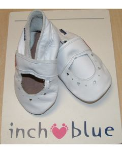 Inch Blue MJ Sandal White