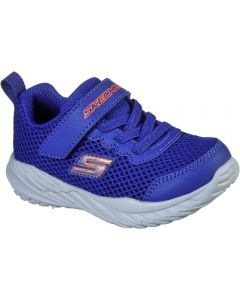 Skechers Nitro Sprint Krodon Blue Orange Trainers