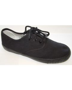 Plimsoll Lace Black