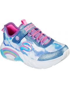 Skechers Rainbow Racer Blue Trainers