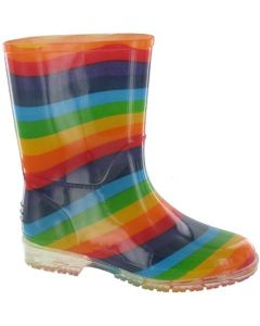 Cotswold Rainbow PVC Wellingtons