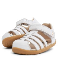 Bobux Step Up Jump White Sandals