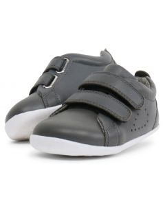Bobux Step Up Grass Court Smoke Grey Shoes