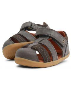 Bobux Step Up Roam Charcoal Grey Sandals