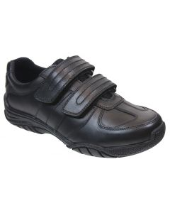 Term Chivers Black School Shoes