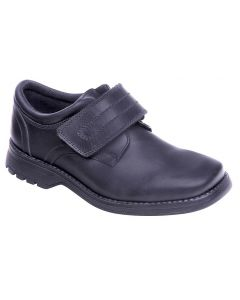 Term Class 2 Black Leather School Shoes