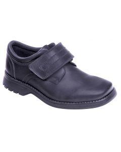 Term Class 2 Black Leather School Shoes